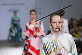 Central Saint Martins BA Fashion show with collections by graduate fashion students.