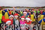 Kieran O'Connor, Mary O'Connor, Nora O'Connell, Mary O'Connell, Clodagh O'Connor, Joe O'Connor and Sean O'Connor, who took part in the Santa 5k fun run at Tralee Bay Wetlands on Sunday.