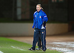 St Johnstone v Kilmarnock..28.12.11   SPL .Kenny Shiels shouts.Picture by Graeme Hart..Copyright Perthshire Picture Agency.Tel: 01738 623350  Mobile: 07990 594431