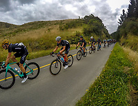 The NZ National team on day one of the NZ Cycle Classic UCI Oceania Tour in Wairarapa, New Zealand on Wednesday, 15 January 2020. Photo: Dave Lintott / lintottphoto.co.nz