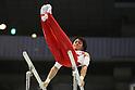 Kenya Kobayashi (JPN), JULY 3, 2011 - Artistic gymnastics : Japan Cup 2011 Men's Individual All-Around Competition Parallel Bars at Tokyo Metropolitan Gymnasium, Tokyo, Japan. (Photo by YUTAKA/AFLO SPORT) [1040]