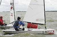 20th SPA Regatta - Medemblik.26-30 May 2004..Copyright free image for editorial use. Please credit Peter Bentley..Monica Bronica - POL