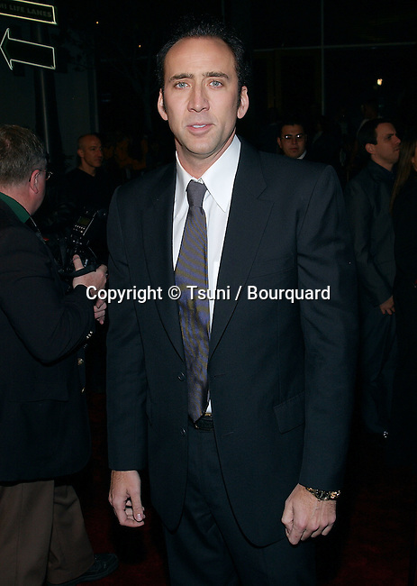 """Nicolas Cage arriving at the Premiere of """"The Life Of David Gale"""" at the Universal Cineplex Theatre in Los Angeles. February 18, 2003          -            CageNicolas04B.jpg"""