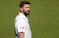Liam Plunkett of Surrey talks to fans in the crowd during Surrey CCC vs Essex CCC, Specsavers County Championship Division 1 Cricket at the Kia Oval on 13th April 2019
