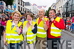 Anne Holland, Bernadette Randles, Terence Mulcahy and Eamon O'Callaghan (all from Killarney keeping their eye on Main Street USA. Killarney 4th of July Celebrations. Photo by Marek Hajdasz www.mhphotos.ie