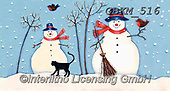 Kate, CHRISTMAS SANTA, SNOWMAN, WEIHNACHTSMÄNNER, SCHNEEMÄNNER, PAPÁ NOEL, MUÑECOS DE NIEVE, paintings+++++Christmas page 7 1,GBKM516,#x#