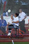 IPC European Athletics Championship 2014<br /> Swansea University<br /> Solmaz Safarova (AZE)<br /> 19.08.14<br /> &copy;Steve Pope-SPORTINGWALES