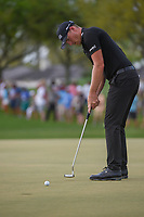 Matthew Wallace (ENG) watches his putt lip out on 13 during round 4 of the Arnold Palmer Invitational at Bay Hill Golf Club, Bay Hill, Florida. 3/10/2019.<br /> Picture: Golffile | Ken Murray<br /> <br /> <br /> All photo usage must carry mandatory copyright credit (© Golffile | Ken Murray)