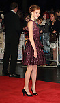 Helena Barlow  at the  BFI London Film Festival Closing Gala 'Great Expectations' at the.. Odeon Leicester Square, London - October 21st 2012 Picture By: Brian Jordan / Retna Pictures.. ..-..