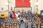 Dromclought National School who performed the Christmas story at Irremore Church, Listowel on Monday evening last.
