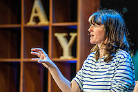 Friday  27 May 2016<br /> Pictured: Emma Bridgewater talks at the Hay festival<br /> Re: The 2016 Hay festival take place at Hay on Wye, Powys, Wales