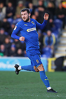 Shane McLoughlin of AFC Wimbledon during AFC Wimbledon vs Fleetwood Town, Sky Bet EFL League 1 Football at the Cherry Red Records Stadium on 8th February 2020