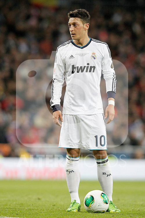 Real Madrid's Mesut Ozil during spanish KIng's Cup Final match.May 17,2013. (ALTERPHOTOS/Acero)