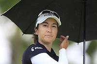 Marina Alex (USA) in action on the 12th during Round 1 of the HSBC Womens Champions 2018 at Sentosa Golf Club on the Thursday 1st March 2018.<br /> Picture:  Thos Caffrey / www.golffile.ie<br /> <br /> All photo usage must carry mandatory copyright credit (&copy; Golffile | Thos Caffrey)