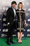 Spanish actors Nacho Guerreros (l) and Maria Adanez during the Cadena Dial Awards 2014. March 7, 2014. (ALTERPHOTOS/Acero)