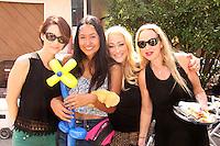 "Mandy Pauline, Jeannie Aguilar, Jennifer Blanc, Jenise Blanc<br /> on the ""Mindless"" Film Set by Blanc/Biehn Productions, Private Location, Los Angeles, CA 05-18-14<br /> Dave Edwards/DailyCeleb.com 818-249-4998"