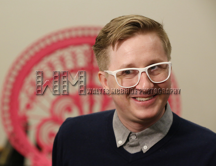Kyle Jarrow during the Rehearsal Press Preview of the New Broadway  Musical on 'SpongeBob SquarePants'  on October 11, 2017 at the Duke 42nd Street Studios in New York City.