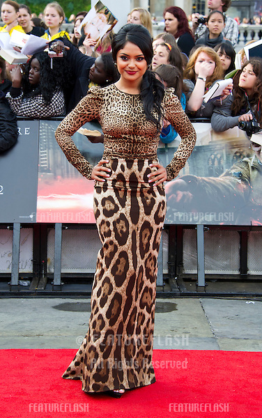 Afshan Azad arriving for the World Premiere of 'Harry Potter & the Deathly Hallows pt2', Trafalgar Square, London. 07/07/2011  Picture by: James McCauley / Featureflash