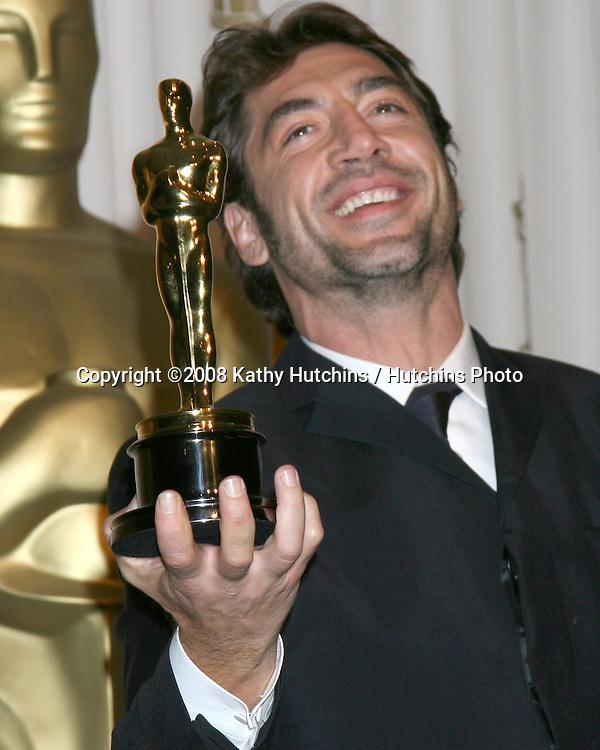 Javier Bardem.80th Academy Awards.Kodak Theater.Los Angeles, CA.February 24, 2008.©2008 Kathy Hutchins / Hutchins Photo....