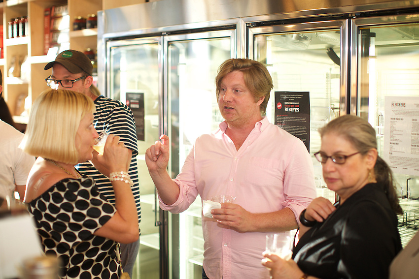 New York, NY - August 3, 2016: The opening of the new Fleisher's Craft Butchery on the Upper East Side.<br /> <br /> CREDIT: Clay Williams.<br /> <br /> &copy; Clay Williams / claywilliamsphoto.com