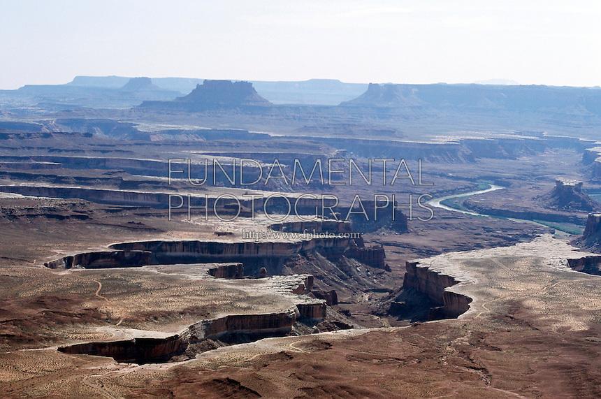 SOUTHWESTERN GEOLOGICAL FORMATIONS<br /> Green River<br /> Canyonlands National Park, Utah