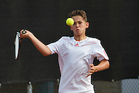 August 6, 2014, Netherlands, Rotterdam, TV Victoria, Tennis, National Junior Championships, NJK, Stijn Pel (NED) <br /> Photo: Tennisimages/Henk Koster