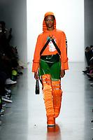 Jeremy Scott<br /> New York Fashion Week <br /> FW18<br /> <br /> New York Fashion Week,  New York, USA in February 2018.<br /> CAP/GOL<br /> &copy;GOL/Capital Pictures