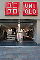 March 20, 2011, Tokyo Japan - A photo released on March 20 shows the fashion retailer store, Uniqlo, who donated $25.6 million to the Japanese Red Cross as part of the relief efforts to help those affected by the devastating earthquake and tsunami that rocked the north-east region of Japan on March 11, 2011.