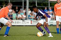 NIEUW BUINEN - Voetbal , Nieuw Buinen - FC Groningen, voorbereiding seizoen 2018-2019, 04-07-2018,  FC Groningen speler Mateo Cassierra
