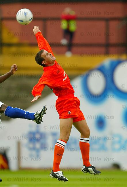 Jim McIntyre, Dundee Utd.Stock season 2003-2004..pic willie vass