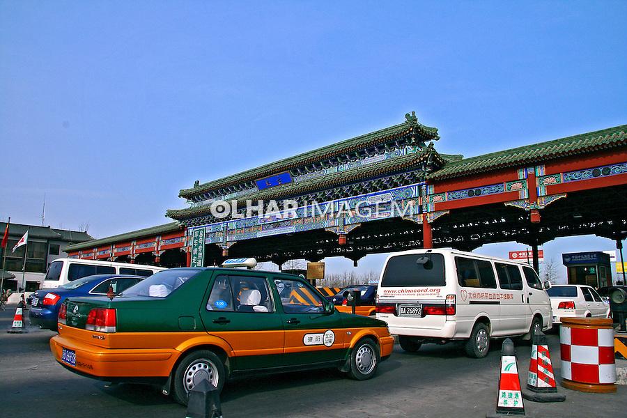 Pedágio em estrada. Pequim. China. 2007. Foto de Flávio Bacellar.