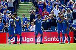 Getafe CF's team celebrates goal during La Liga match. May 05,2019. (ALTERPHOTOS/Alconada)