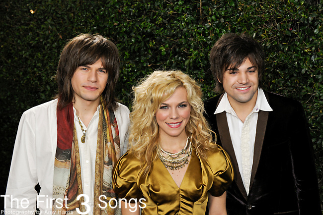 The Band Perry attend the 2010 American Music Awards VIP After Party hosted by Rolling Stone Magazine at the Rolling Stone Restaurant & Lounge in Los Angeles, California.