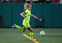 Seattle, WA - Saturday July 23, 2016: Beverly Yanez during a regular season National Women's Soccer League (NWSL) match between the Seattle Reign FC and the Orlando Pride at Memorial Stadium.
