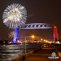 """Independence Day Celebrations"" ~ Duluth is a beautiful, patriotic setting for Independence celebrations."