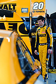 Monster Energy NASCAR Cup Series<br /> Daytona 500<br /> Daytona International Speedway, Daytona Beach, FL USA<br /> Friday 16 February 2018<br /> Erik Jones, Joe Gibbs Racing, DEWALT Toyota Camry<br /> World Copyright: Logan Whitton<br /> LAT Images