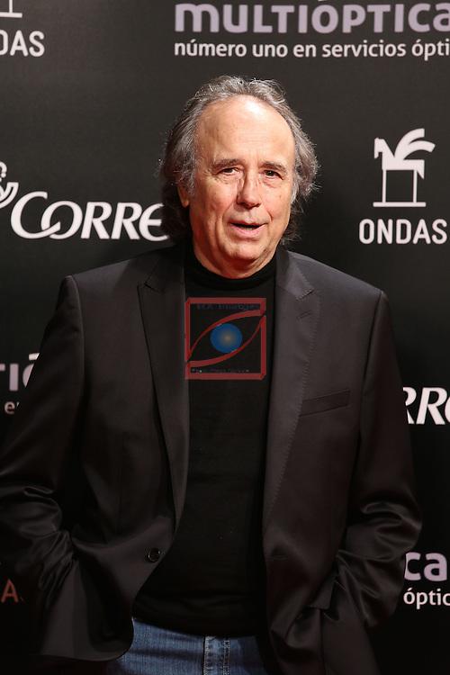 61 Premios Ondas.<br /> Photocall Gala ONDAS-Gran Teatre del Liceu.<br /> Joan Manuel Serrat.