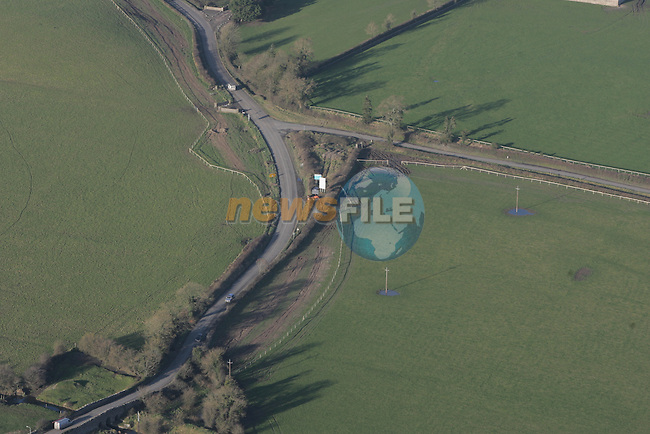 Aerial Pictures showing progress on the R156 from Kilcock to Summerhill 9/2/07.Photo: Fran Caffrey/ Newsfile.