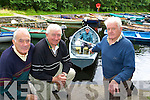 Commercial rowing club members John Joe Healy, John Kelly, Henry Clifton and James Doyle (in boat) who were stunned to discover that the engine for their safety boat was stolen over the weekend   Copyright Kerry's Eye 2008