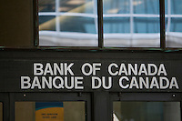 Bank of Canada office is pictured in Ottawa Sunday September 26, 2010. The Bank of Canada (in French: Banque du Canada) is Canada's central bank.