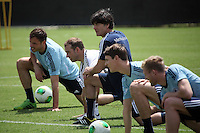 23.05.2013: Erstes DFB-Training in Miami