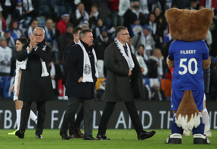 Ex Leicester City Manager Claudio Ranieri at the end of todays game<br /> <br /> Photographer Rachel Holborn/CameraSport<br /> <br /> The Premier League - Saturday 10th November 2018 - Leicester City v Burnley - King Power Stadium - Leicester<br /> <br /> World Copyright © 2018 CameraSport. All rights reserved. 43 Linden Ave. Countesthorpe. Leicester. England. LE8 5PG - Tel: +44 (0) 116 277 4147 - admin@camerasport.com - www.camerasport.com