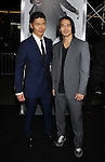 "HOLLYWOOD, CA. - November 19: Rick Yune and Karl Yune arrive at the ""Ninja Assassin"" Los Angeles Premiere at the Grauman's Chinese Theatre on November 19, 2009 in Hollywood, California."