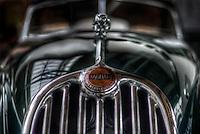 Classic car. Jaguar