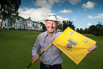 Two time GB&amp;I Ryder cup Player Tommy Horton visted Blairgowrie Golf Club today as ambassador for the Junior Ryder Cup which is to be played over the Lansdowne Course next year<br /> Pic Kenny Smith, Kenny Smith Photography<br /> 6 Bluebell Grove, Kelty, Fife, KY4 0GX <br /> Tel 07809 450119,