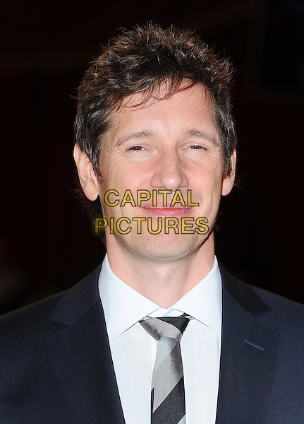 Paul W.S Anderson.'The Three Musketeers in 3D' world film premiere, Vue Cinema, Westfield Shopping Centre, London, England..October 4th 2011.headshot portrait black white grey gray tie.CAP/BEL.©Tom Belcher/Capital Pictures.
