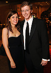 Natalie Alderson and Chris George at the post performance dinner following the Houston Grand Opera's 2010-2011 season opener Friday Oct. 22, 2010. (Dave Rossman/For the Chronicle)