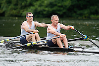 MasC.2x QF -  Berks: 218 Sammamish RA Composite (USA) -  Bucks: 219 Bideford AAC<br /> <br /> Friday - Henley Masters Regatta 2016<br /> <br /> To purchase this photo, or to see pricing information for Prints and Downloads, click the blue 'Add to Cart' button at the top-right of the page.