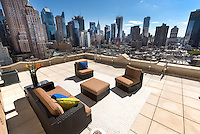 Roof Deck at 425 West 50th Street