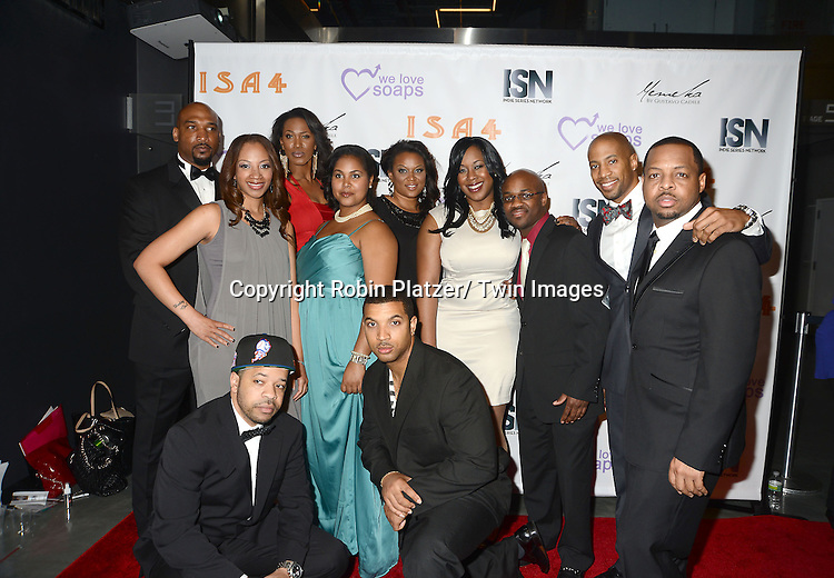 cast of Anacostia attends the  4th Annual Indie Soap Awards  on Tuesday, February 19th at The New World Stages in New York City. .